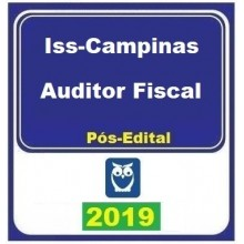 ISS CAMPINAS (AUDITOR FISCAL) PÓS EDITAL 2019 (E)